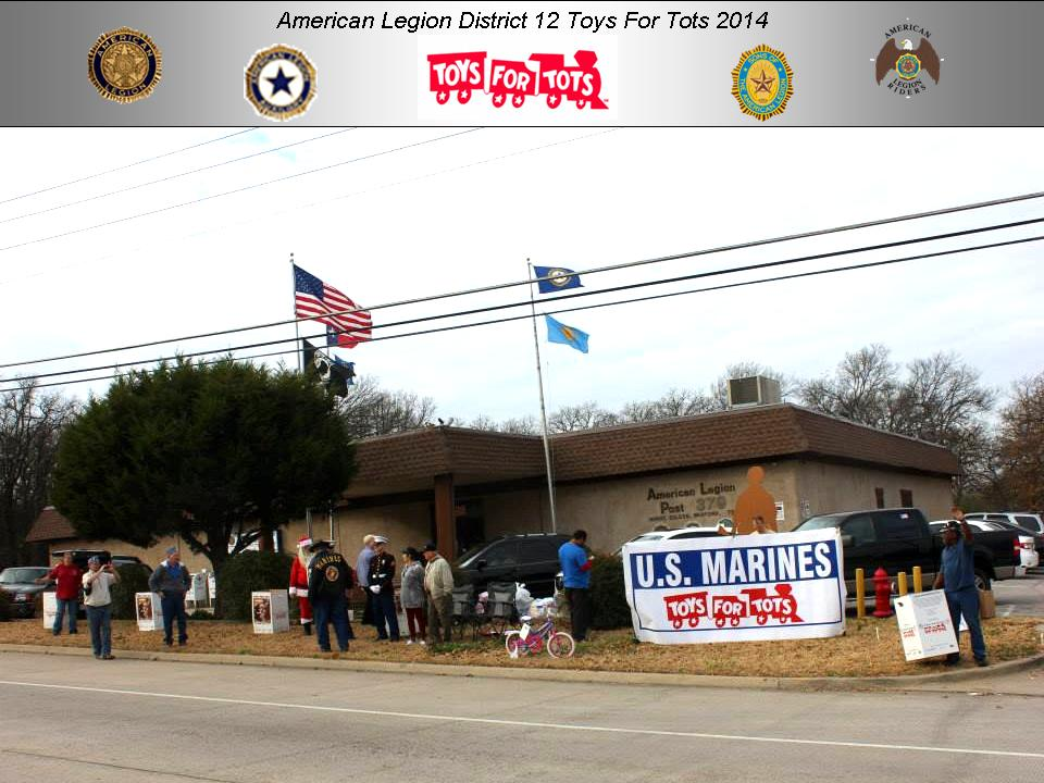 American Legion 2017 Toys For Tots : Enlarge picture